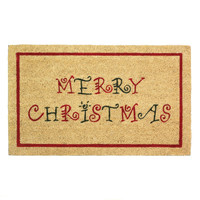 Merry Christmas Welcome Mat