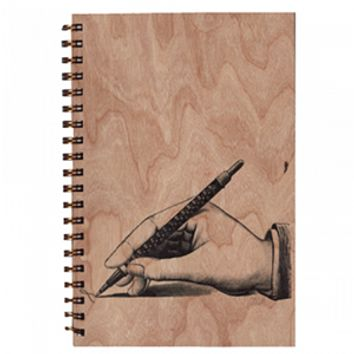 Wood Notebook Ink Large