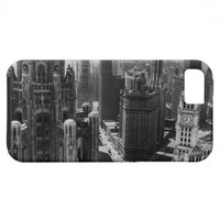 Chicago Skyscrapers in the Early 20th Century iPhone 5 Case from Zazzle.com