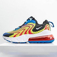 NIKE AIR MAX 270 REACT half air cushion men and women sports running shoes