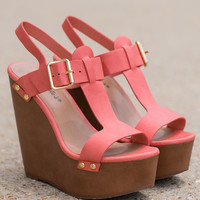 The Emily Wedge, Peach