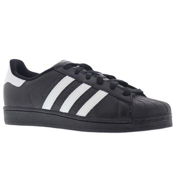 Adidas Superstar Foundation Black White Men's Trainers