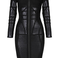 Melanic Bandage Dress