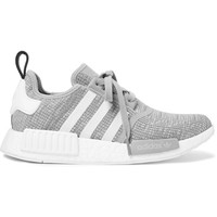 adidas Originals - NMD R1 Rubber-Trimmed Mesh Sneakers