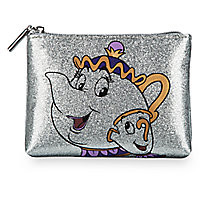 Mrs. Potts and Chip Cosmetic Case by Danielle Nicole