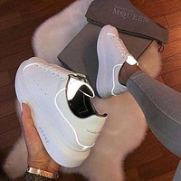 Alexander Mcqueen 19ss 3M Reflective Thick-soled Shoes