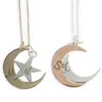 Catbird :: WHAT'S NEW: jewelry :: You are My Moon and Stars - Stackable Necklace