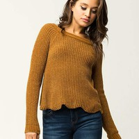 IVY & MAIN Chenille Womens Sweater | Pullovers