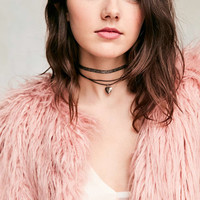 Heart Charm Layering Choker Necklace Set - Urban Outfitters