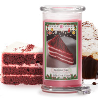 Red Velvet Cake Jewelry Candle
