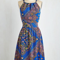 Mid-length Sleeveless A-line Resolute For Cute Dress