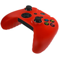 Red Silicone Skin Case Cover for Microsoft Xbox One