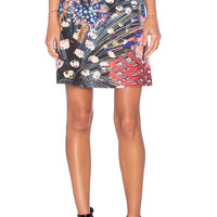 Clover Canyon Etched Blooms Skirt in Multi
