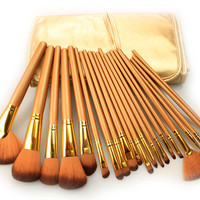 21Pcs Luxury Gold Makeup Brush Sets [9647069903]
