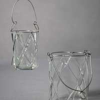 Dimpled Pane Candle Baskets in  the SHOP Decor Decorating at BHLDN