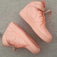 Pale Pink Air Force 1s