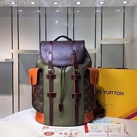 LV Louis Vuitton  SUPREME MEN'S EPI LEATHER Christopher BACKPACK BAG