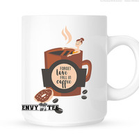Tea Cups | Coffee Cups | House warming gifts | Anniversary Gifts | Forget love fall in coffee