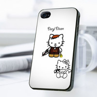 Hello Kitty Daryl Dixon iPhone 4 Or 4S Case