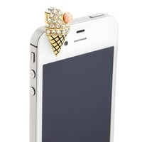 Ice Cream Cone Cell Phone Plug: Charlotte Russe