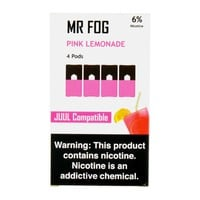 Mr Fog Pink Lemonade 4 Pods