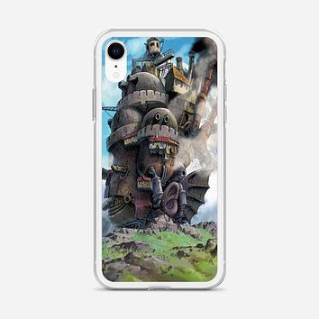 Howl Moving Castle Poster iPhone XR Case