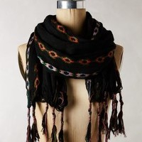 Indah Embroidered Scarf by Anthropologie