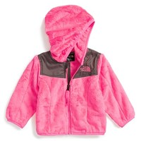 The North Face Infant Girl's 'Oso' Fleece Hooded Jacket,