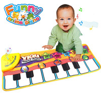 Childrens Touch Play Learn Carpet Singing Music Piano Keyboard Blanket Toy