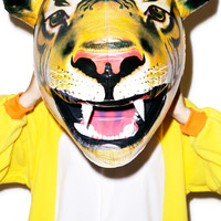 Big Mouth Toys Inflatable Tiger Head Multi One