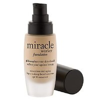philosophy miracle worker miraculous liquid makeup spf 30 — QVC.com