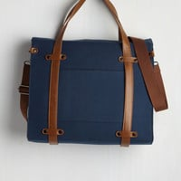 Camp Director Tote in Midnight Blue | Mod Retro Vintage Bags | ModCloth.com