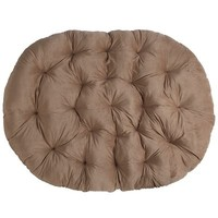Papasan Double Cushion - Plush Khaki