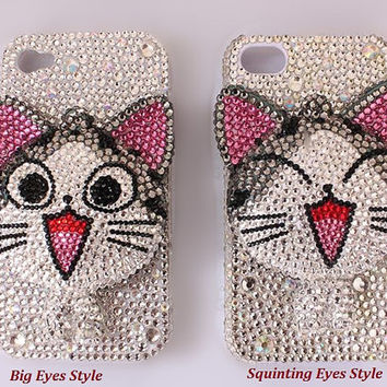 Chi's Sweet Home  DIY Phone Case Deco Den Kit & Free iPhone5 case or iPhone4/4S case