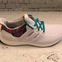 Adidas MiAdidas Ultra Boost Multicolor BY1756 White Teal DS Men's Size 10.5