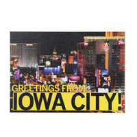 Greetings Iowa City Postcard