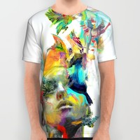Dream Theory All Over Print Shirt by Archan Nair