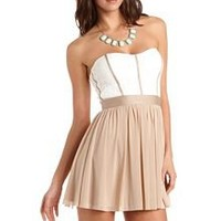 Sweetheart Lace Tube Dress: Charlotte Russe