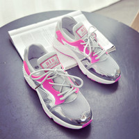 Summer sports shoes have three colors outdoor Trendly sneakers running shoes for woman and girl walking jogging shoes zapatos