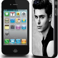 ZAC EFRON hard phone cover case for APPLE IPHONE 4/4S­­­­­­­­­­­­­ MOBILE