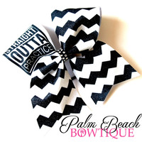 Straight Outta Practice Cheer Bow Soccer Bow or Softball Bow