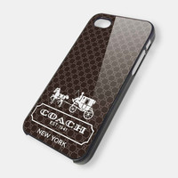 Coach EST 1941 New York 3 iPhone 5 Case iPhone 4 /4S by sipgan