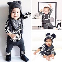 Newborn Baby Girl Boy Clothes Romper