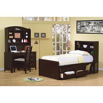 G400183 - Phoenix Child Bedroom Set - Deep Cappuccino