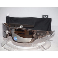 Tagre OAKLEY POLARIZED CRANKSHAFT SUNGLASSES OO9239-07 Brown Smoke / Tungsten Iridium