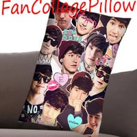 "Custom Pillow Cases Jc Caylen  collage art,available size 18"" x 18"", 16"" x 24"", 20"" x 30"" one side and two side cover"