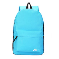 """Nike"" Sport Hiking Backpack College School Travel Bag Day pack Blue"