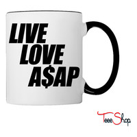 Live Love A$APr Coffee & Tea Mug