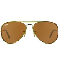 Cheap NEW Genuine Ray-Ban RB3025JM-169 AVIATOR FULL COLOR Brown Camouflage Sunglasses outlet