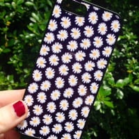 Iphone 6 Phone Case Daisy Flowers Floral Summer Print Hipster Phone Cover